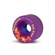 Roda Orangatang FAT FREE Roxa 65mm 83a