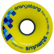 Roda Orangatang STIMULUS Amarela 70mm 86a