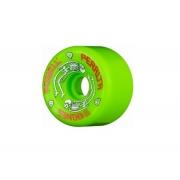 Roda Powell Peralta G Bones Verde 64mm 97a