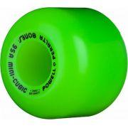 Roda Powell Peralta Mini Cubic Verde 64mm 95a