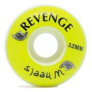Roda Revenge Branca 52mm