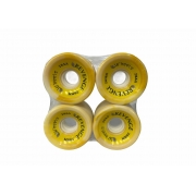 Roda Revenge Longboard Speed 75a Amarelo Mescla 70mm