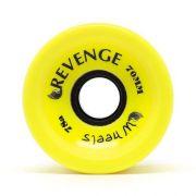 Roda Revenge Longboard Speed 78a Amarela 70mm