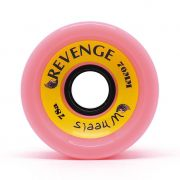 Roda Revenge Longboard Speed 78a Rosa 70mm
