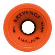 Roda Revenge Longboard Speed 83a Laranja 75mm