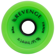 Roda Revenge Longboard Speed 83a Verde 75mm
