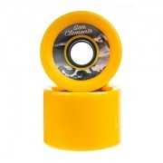 Roda San Clemente Speed Amarela 70mm 80a