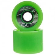 Roda San Clemente Speed Verde 70mm 80a
