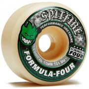 Roda Spitfire Formula Four Green Print Conical 54mm