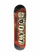 Shape Marfim Diet Skateboards Dice Logo 8.0