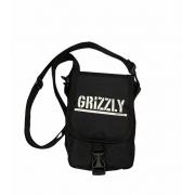 Shoulder Bag Grizzly Stamp Preto