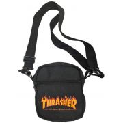 Shoulder Bag Thrasher Flame Preta