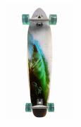 Skate Longboard San Clemente 40' Completo Wave