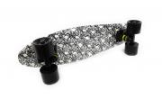 """Skate Mini Cruiser Revenge Caveira 5,5 X 21"""""""