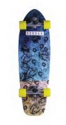 Skate Simulador Surf Fish Tail Hondar 10'' x 33'' Roses