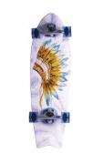 Skate Simulador Surf Fish Tail Hondar 10'' x 33'' Cocar