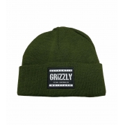 Touca Grizzly Stamp Green