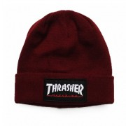 Touca Thrasher Skatemag Patch Bordo