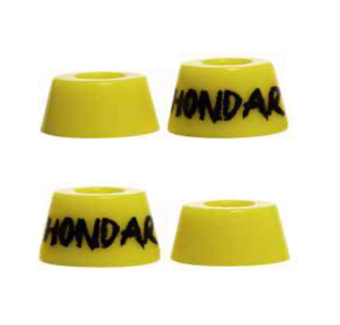 Amortecedor Hondar Conico Soft Amarelo 82a