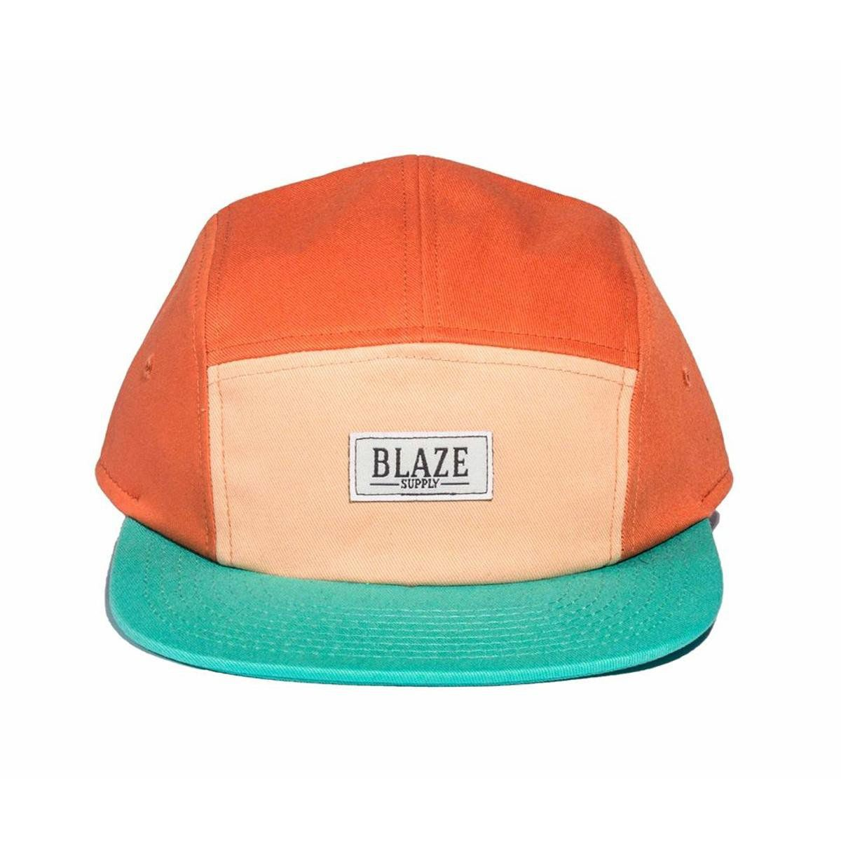Boné Blaze Supply Five panel Strapback Laranja