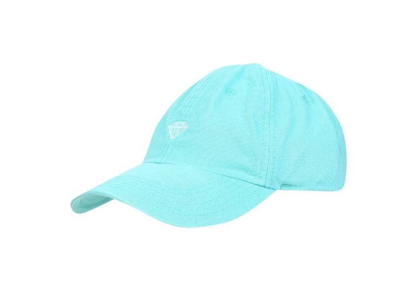 Boné Diamond Brilliant Dad Hat Aba Curva Esmeralda