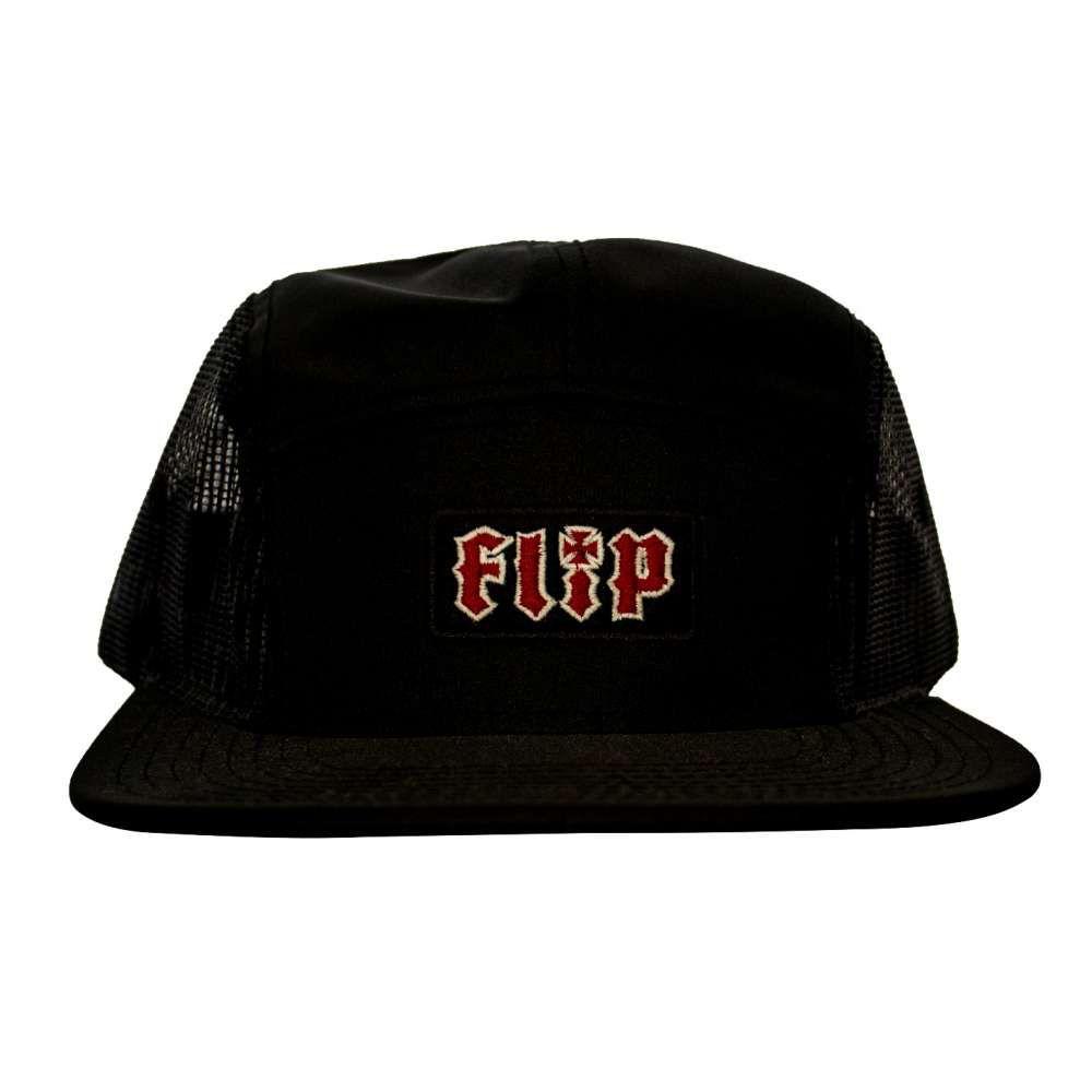 Boné Flip Strapback Fivepanel HDK Preto