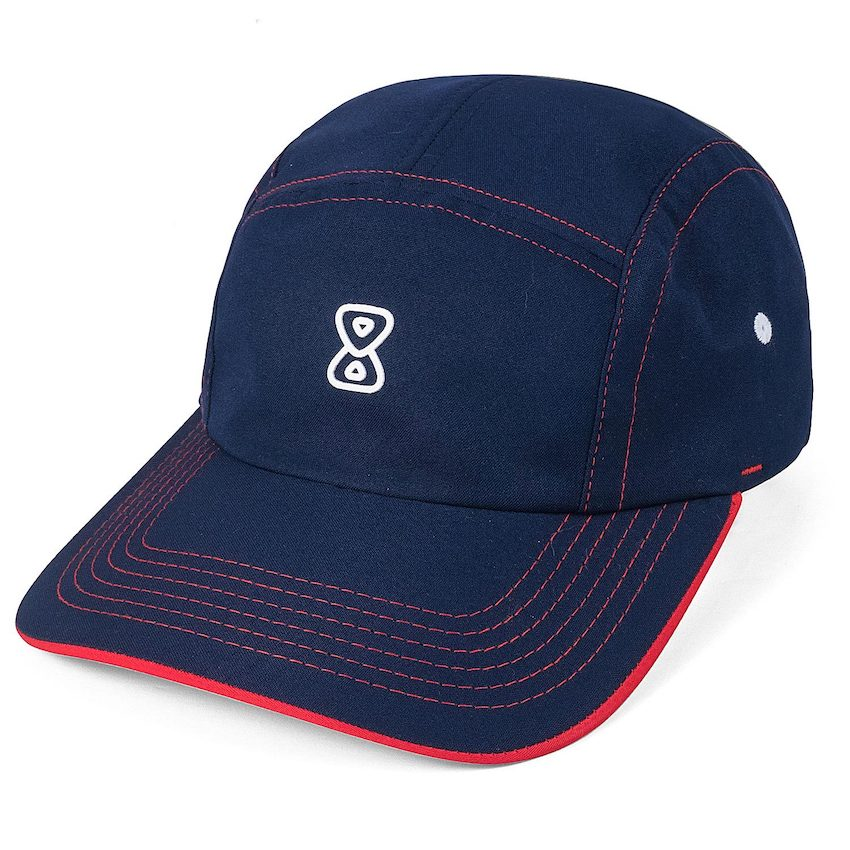 Boné Future Five Panel Aba Curva Form Azul Marinho