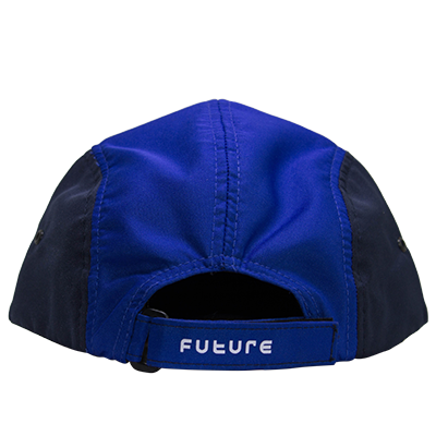 Boné Future Five Panel Ampulheta Azul