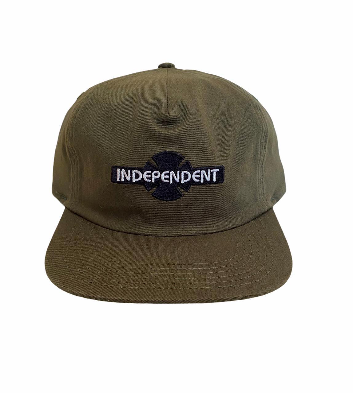 Boné Independent OGBC Aba Reta Snapback Verde