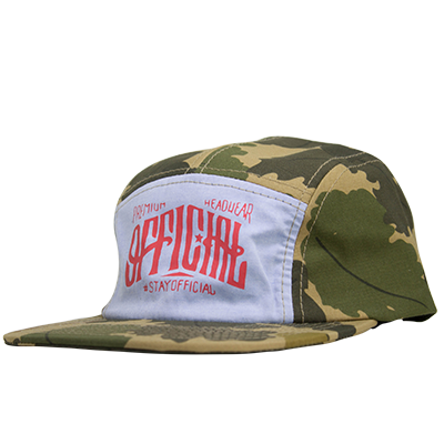 Boné Official Five Panel Camo