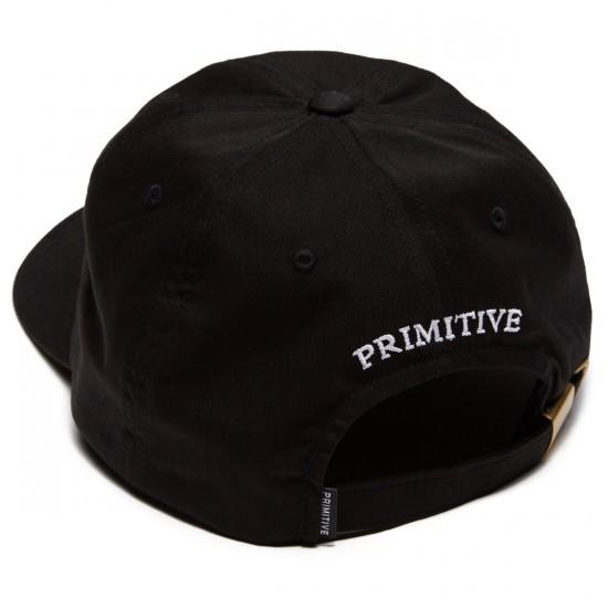 Boné Primitive Classic P Aba Curva Preto