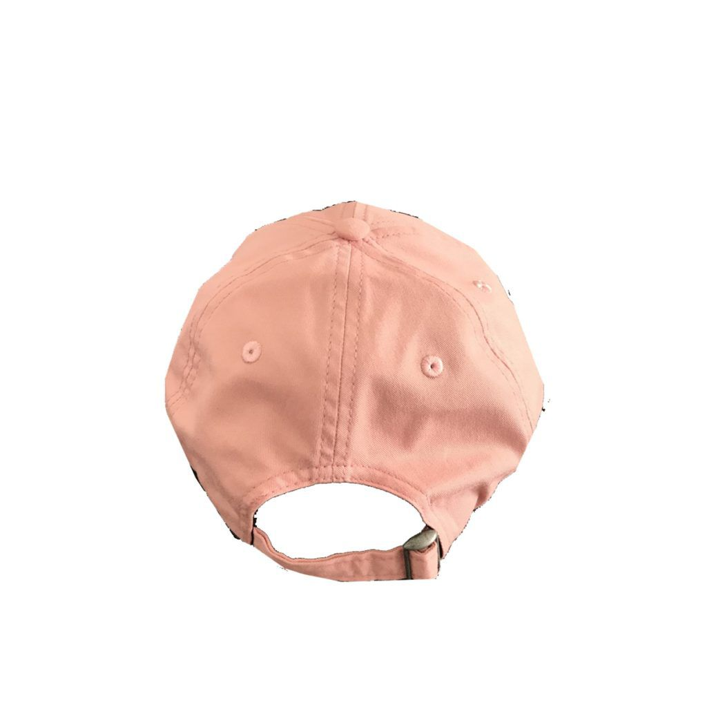 Boné Santa Cruz Screaming Hand Aba Curva Strapback Rosa