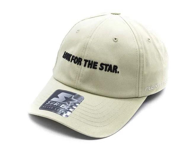 Boné Starter Aba Curva Strapback Look Star Bege