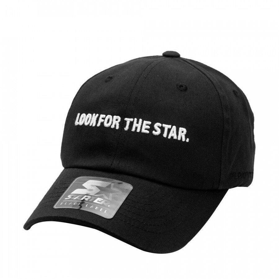 Boné Starter Aba Curva Strapback Look Star Preto