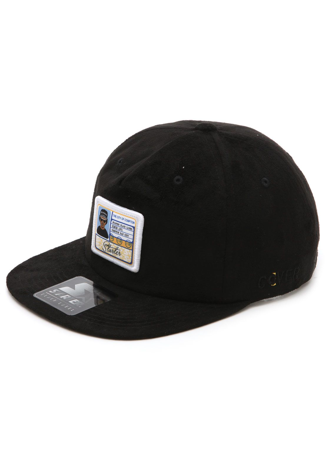 Boné Starter The City Of Compton Snapback Preto