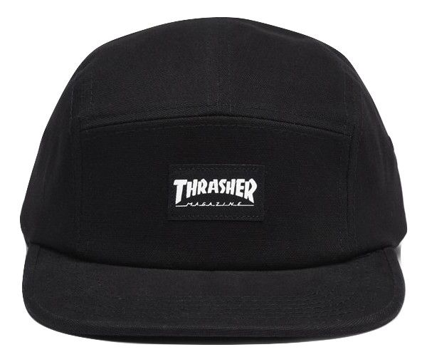 Boné Thrasher Five Panel Preto