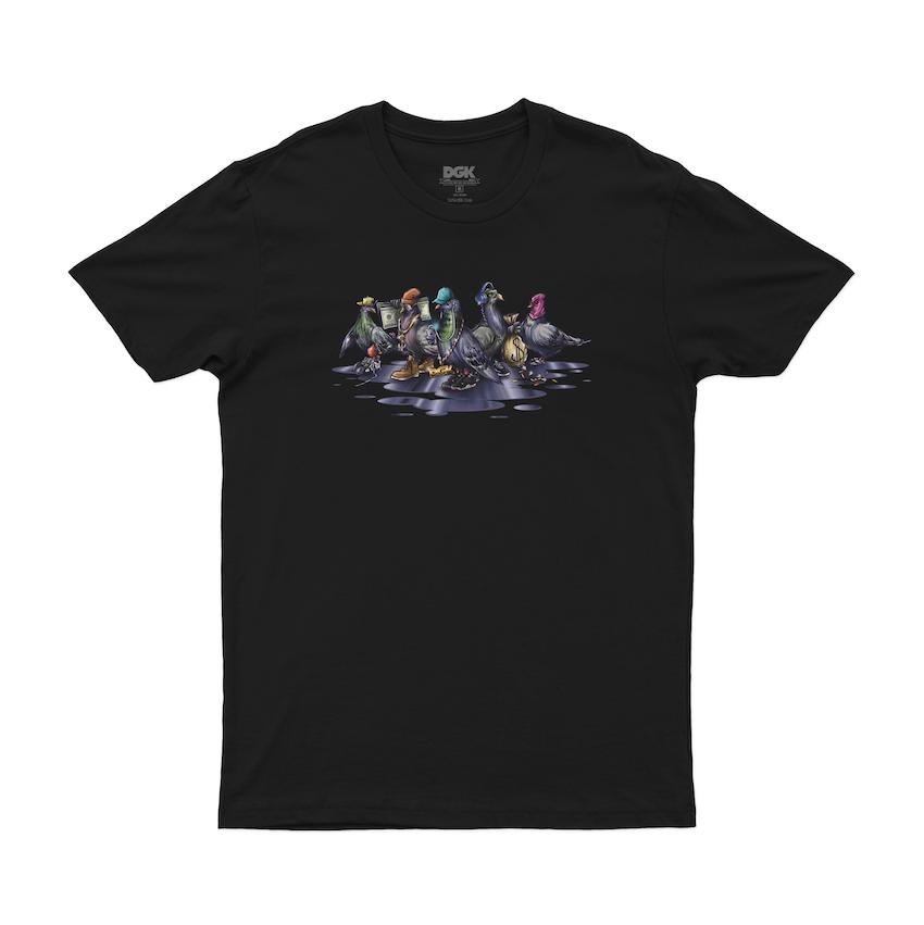 Camiseta DGK Coop Tee Preta