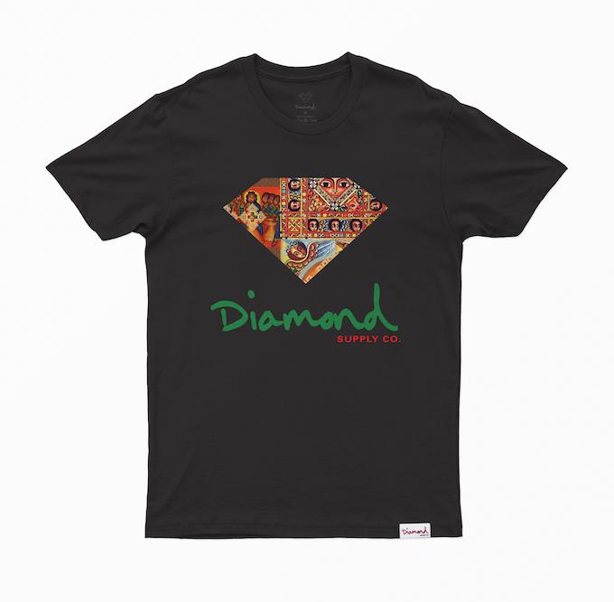 Camiseta Diamond Ethiopian Preta
