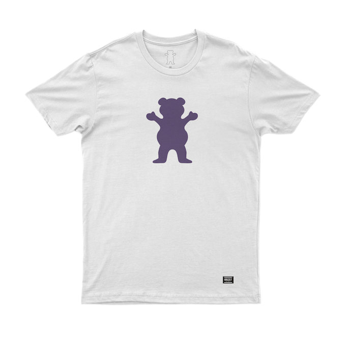 Camiseta Grizzly Bear Branca