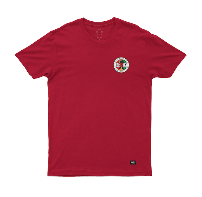 Camiseta Grizzly Most High Vermelha