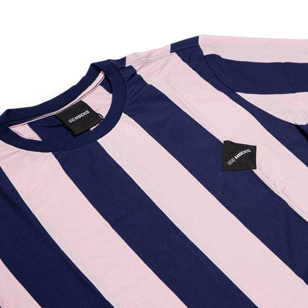 Camiseta Hocks Lolo Azul Rosa