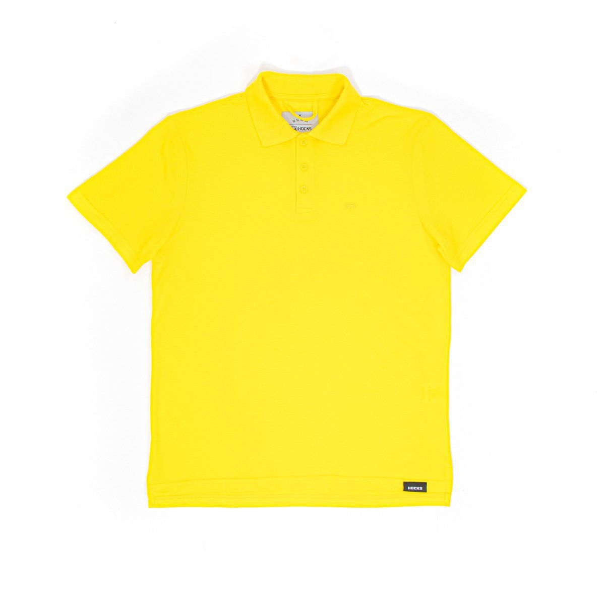 Camiseta Hocks Polo Amarelo