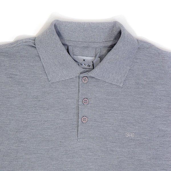 Camiseta Hocks Polo Cinza