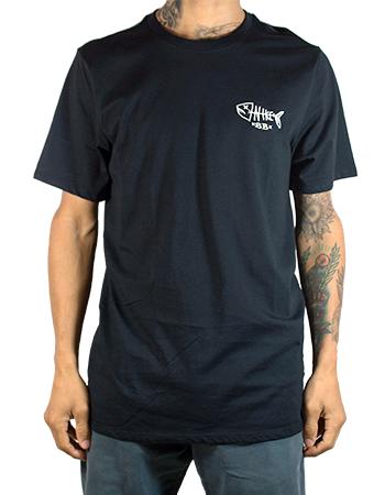 Camiseta Nike SB Dead Fish Preta - Place Skate Shop a6ca4acd955b2