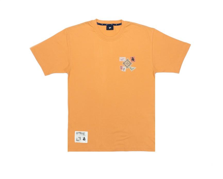 Camiseta Öus Filatelista Laranja