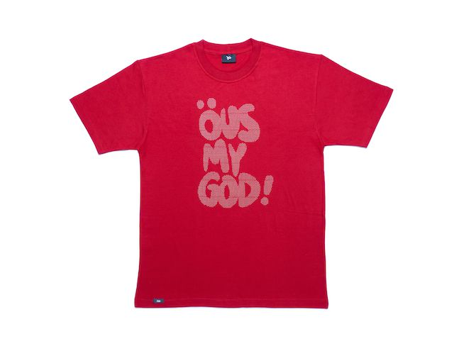 Camiseta Öus My God Vinho