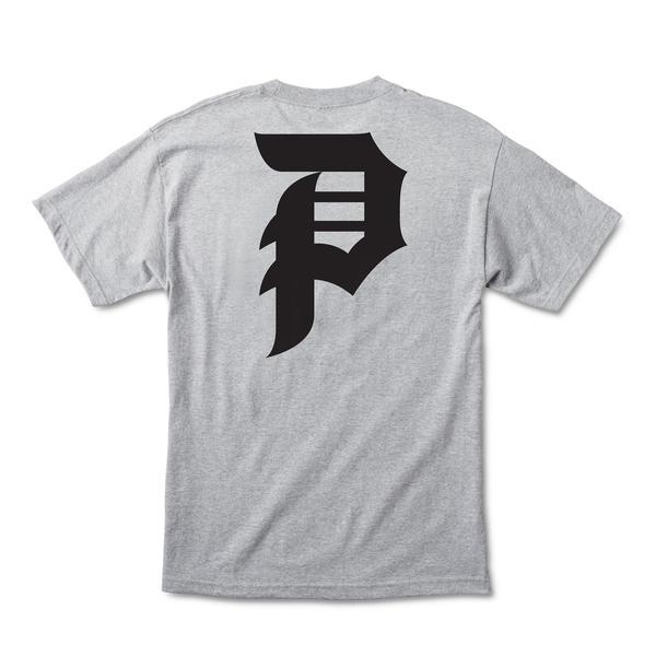 Camiseta Primitive Dirty P Core Cinza