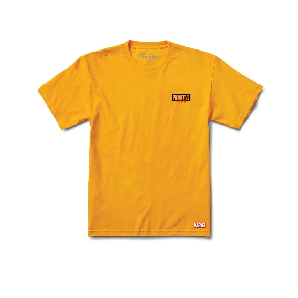 Camiseta Primitive Iron Man Gold