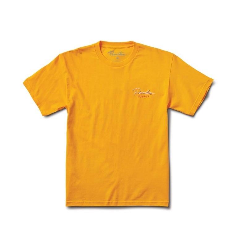Camiseta Primitive Osaka Gold