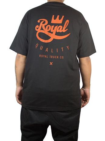 Camiseta Royal Truck Co Preta
